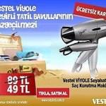 Vestel Viyole Keyifli Tatil Bavullarnn Vazgeilmezi!