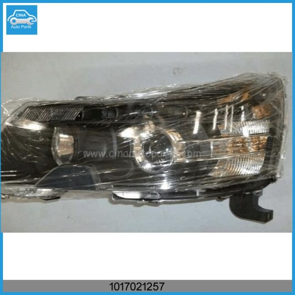 1017021257 - geely ec8 left front headlamp OEM 1017021257