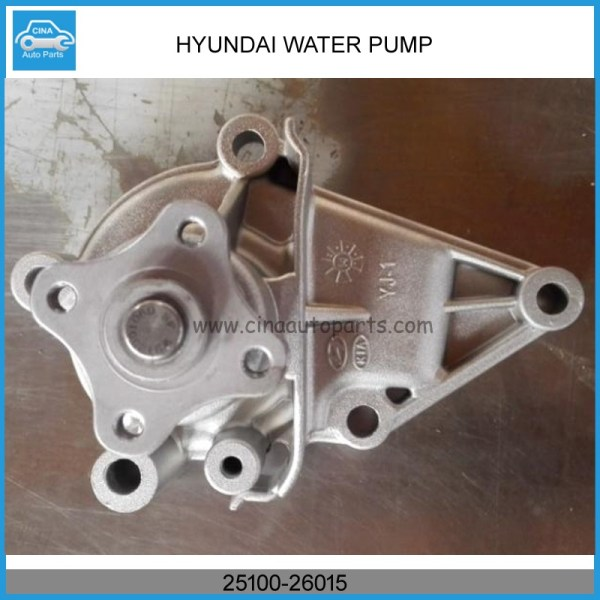 25100 26015 water pump - AUTO WATER PUMP 25100-26901 / GWHY-23A / 25100-26015 / 25100-26016 FOR KIA RIO