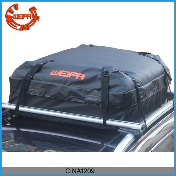 roof cargo bag - Weipa Waterproof Roof Top Cargo Bag (15.05 Cubic Feet) Super Strong and Extra Waterproof Tarpaulin Material –Ideal For Road Trips