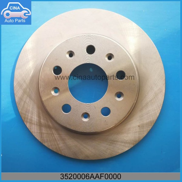 3520006AAF0000 - GAC Rear Brake Disc OEM 3520006AAF0000