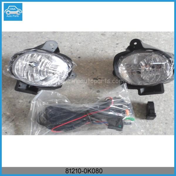 81210 0K080 - Toyota part # 81210-0K080 - Lamp Assembly Fog Right-Hand