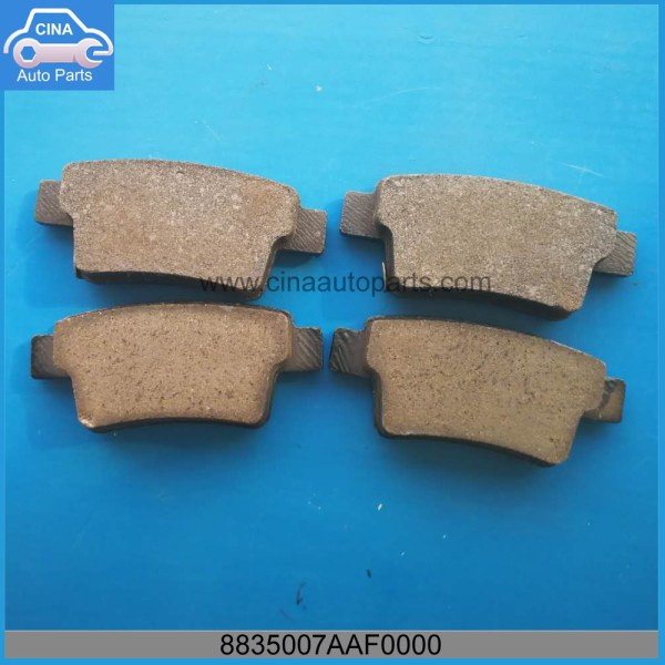 8835007AAF0000 - GAC Rear Brake Pads OEM 8835007AAF0000