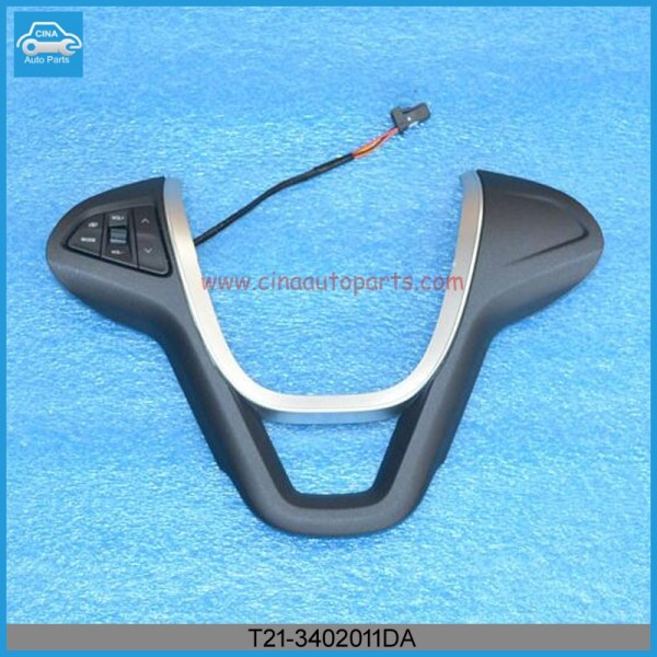 T21 3402011DA - Steering wheel decorative with switch for tiggo 5 OEM T21-3402011DA