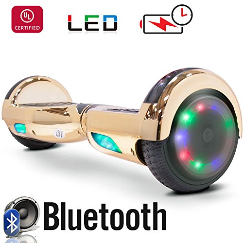 51zpUbniAL - Weipa hover board with bluetoot Lithium-Free UL2272 Certified Two-Wheel Self Balancing Electric Scooter With Flash Top LED Light