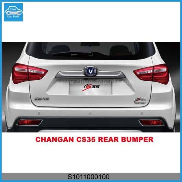 S1011000100 - OEM S1011000100 changan cs35 rear bumper S101100-0100
