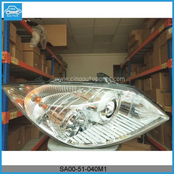 SA00 51 040M1 headlamp - Haima 7 right headlamp OEM SA00-51-040M1