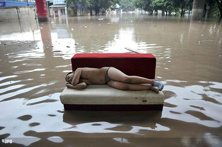 pictures of floods in China - China floods