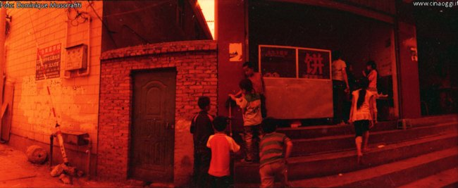 35mm negative Red Scale Photography