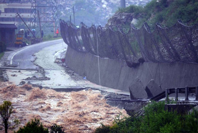 wenchuan pictures of floods in China
