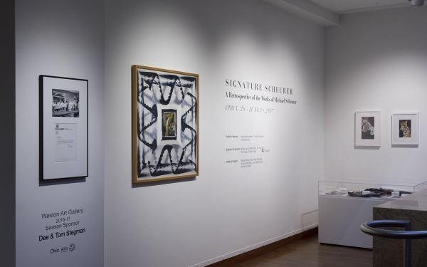 Signature Scheurer Retrospective Of Works