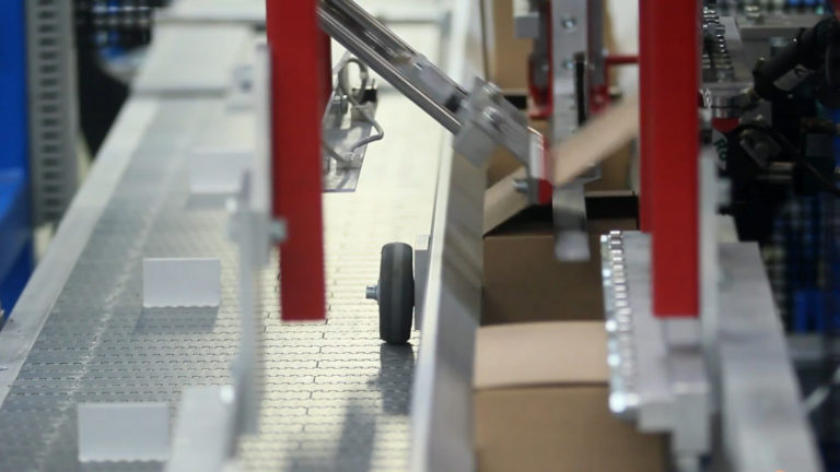 Packaging and Labeling Box Closer