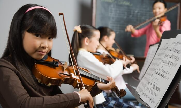 group violin lessons or classes in katy tx
