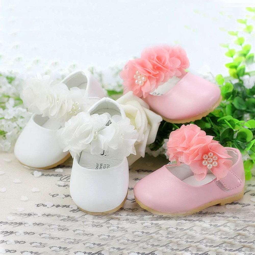 Baby Girls Christening Shoes 909