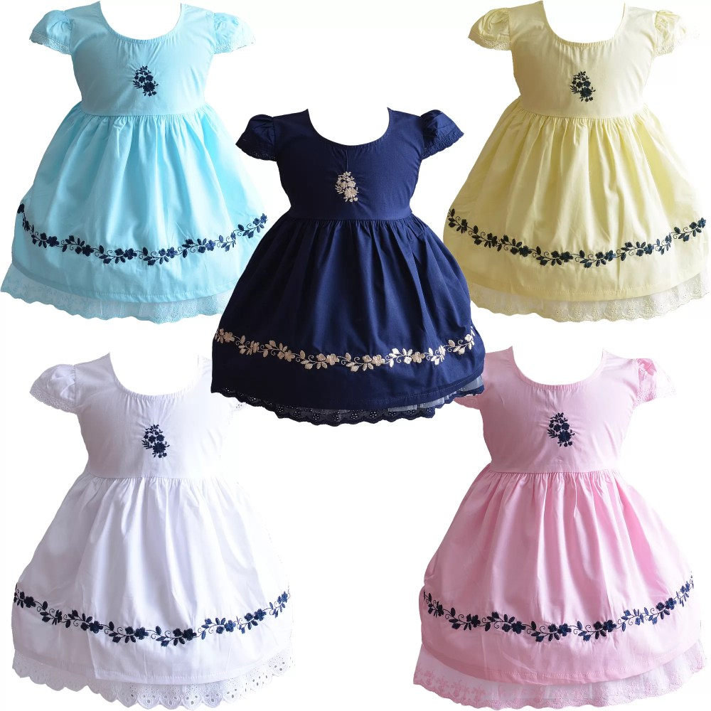 Baby Girls Cotton Dress XL9002