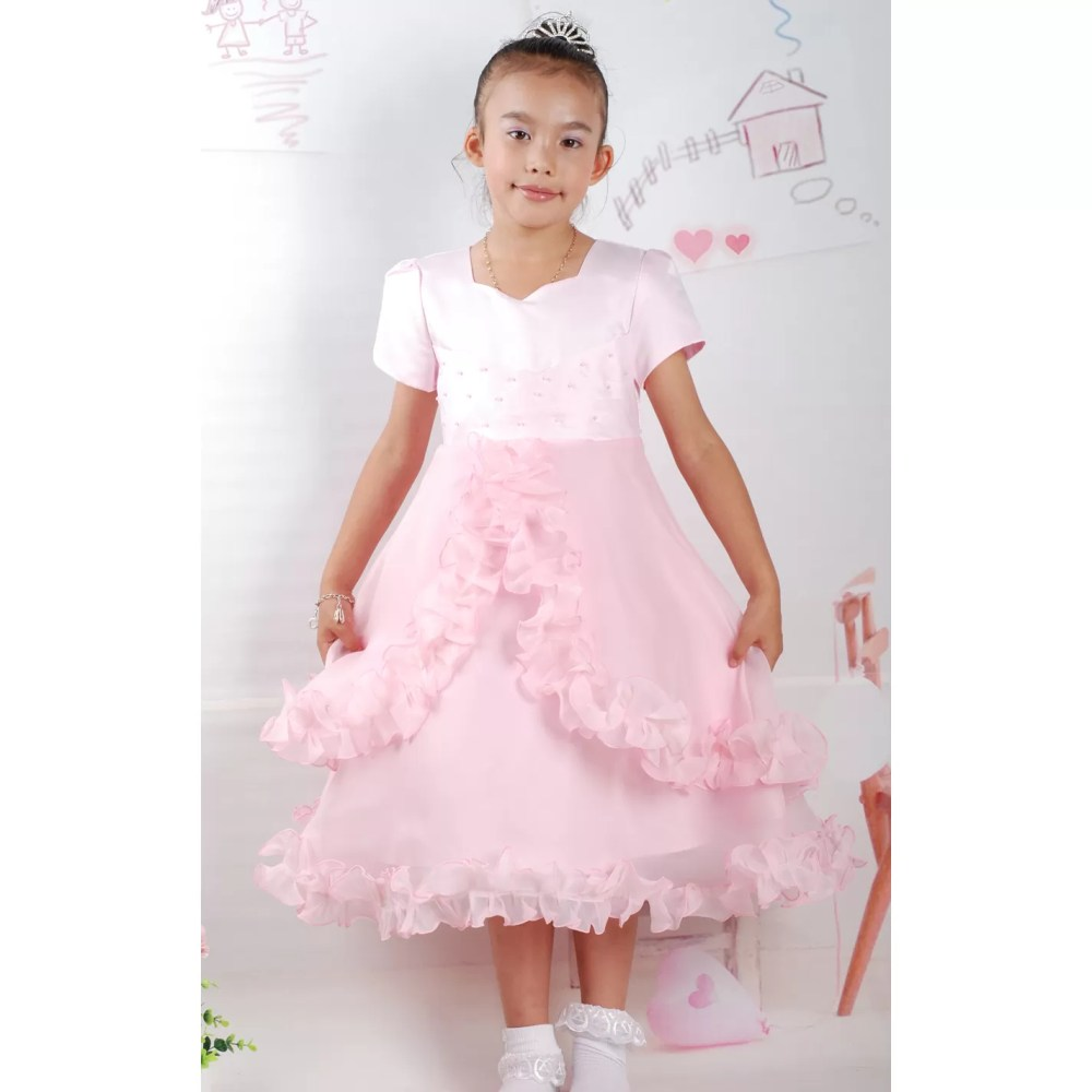 Girls Party Dress Flower Girl Dress