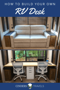 How to Build Your Own RV Desk