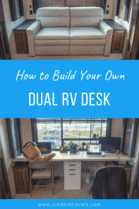 how to build your own dual rv desk