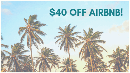 40 Dollars OFF Airbnb
