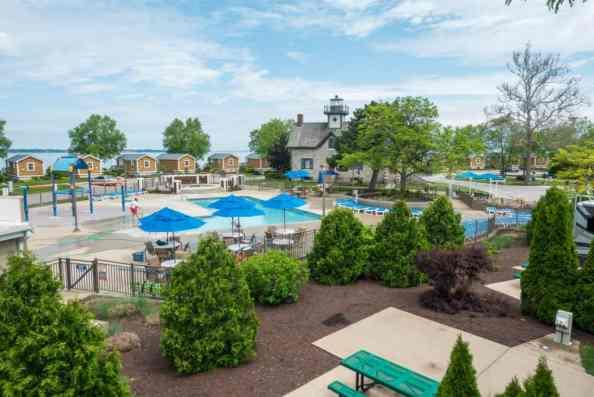 Cedar Point rv park full hookup amenities