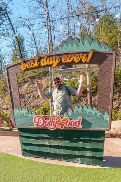 Dollywood best day ever sign