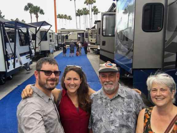 RV Show with Family