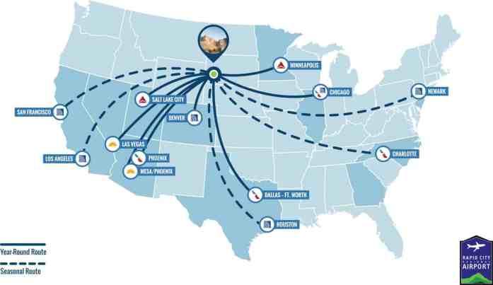 Rapid City Regional Airport Graphic