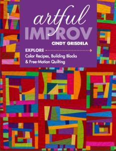 Artful Improv book cover - Cindy Grisdela