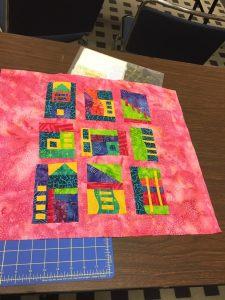 Student Improv Color Blocks Class Houston - Cindy Grisdela