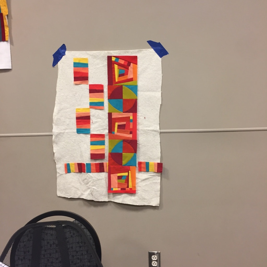 Sally's Artful Improv quilt Road to California 2018 - Cindy Grisdela