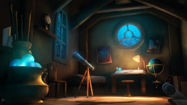Astrologer's room...smaller