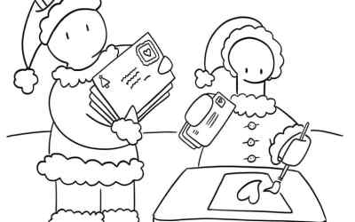 Holiday Coloring Pages!