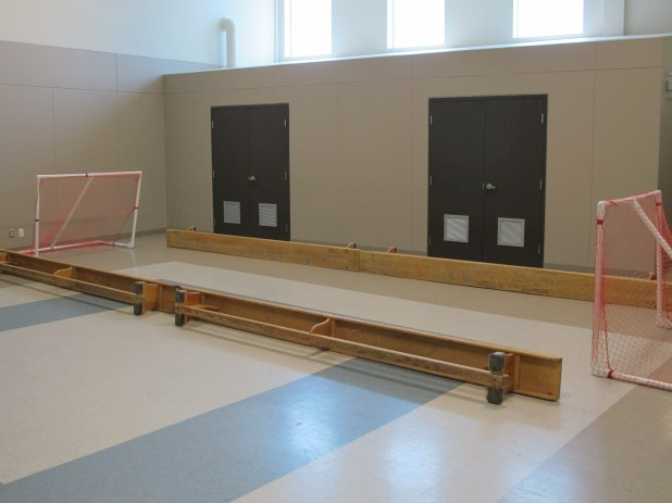 Floor Hockey Area