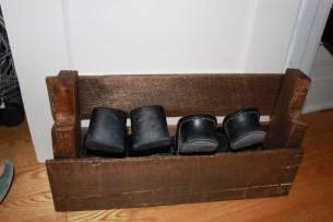 free pallet shoe rack
