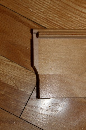 Curved horizontal boards