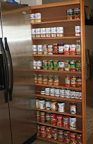 Custom Kitchen Storage