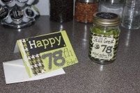 birthday jar