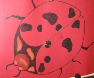 Pin the Spot on the Lady Bug