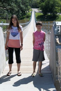 Souris Swinging Bridge
