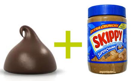 chocolate plus peanut butter
