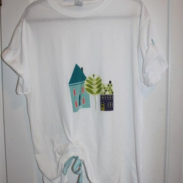 over-sized t-shirt upcylce