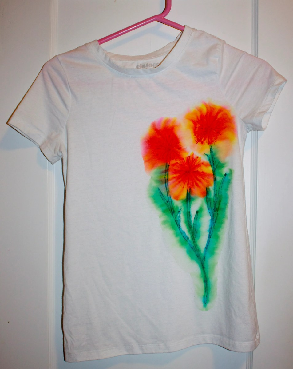 Sharpie Tie Dye Cindy Roy
