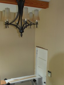 BEFORE: beige walls