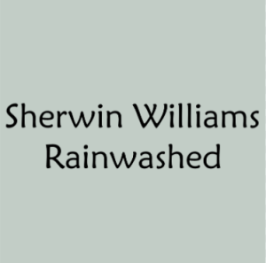 "Sherwin Williams ""Rainwashed"""