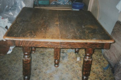 Original oak table
