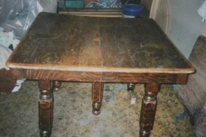 Original oak table