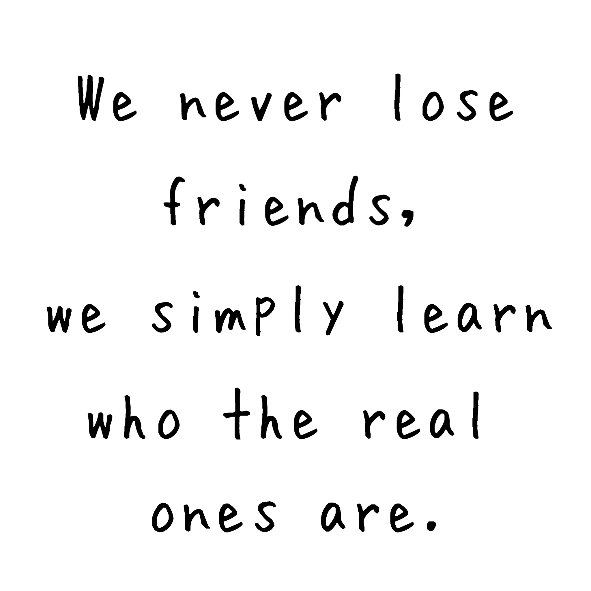 Quotes About Real Friendship Week 43 Quote  Cindy's Cute Corner
