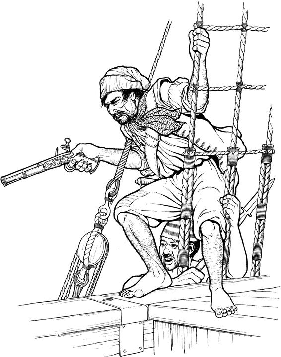 Pirates & Privateers: Pirates and Their Clothes