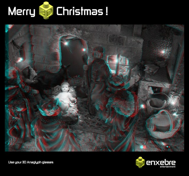 Merry Christmas in3D