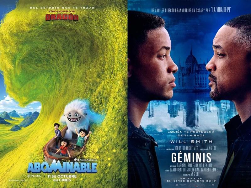 Doble estreno 3D: Abominable y Géminis